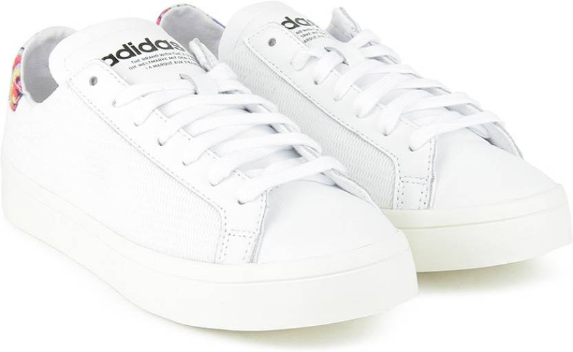 online store d53a3 78549 ADIDAS ORIGINALS COURTVANTAGE W Sneakers For Women (White)