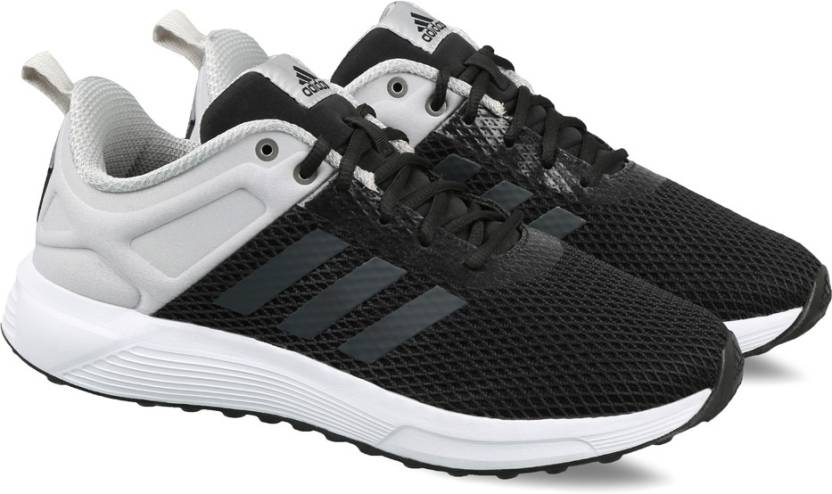 newest 643ad 47884 ADIDAS HELKIN 2.1 M Running Shoes For Men (Black, White)