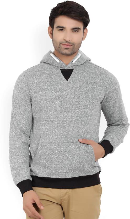 9e5b82fa574 Allen Solly Full Sleeve Solid Men s Sweatshirt - Buy Grey Allen Solly Full  Sleeve Solid Men s Sweatshirt Online at Best Prices in India