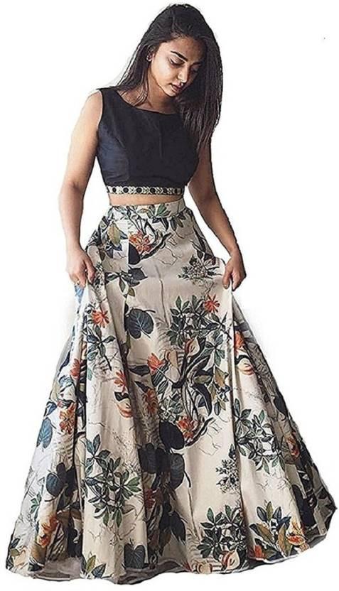 0b04507ae7 Fashions Bazaar Floral Print Lehenga Choli - Buy Fashions Bazaar ...