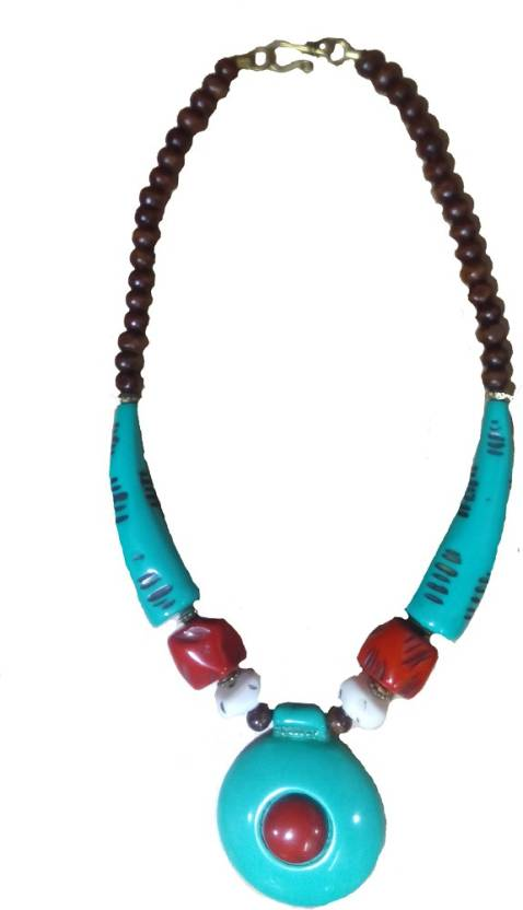 Beauty Corner Chemical Pendant Beads Stone Necklace Price in India