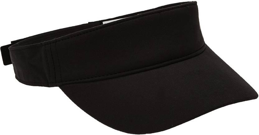 13623d7bcdb ZACHARIAS Solid Sun Visor Black Cap - Buy ZACHARIAS Solid Sun Visor Black Cap  Online at Best Prices in India