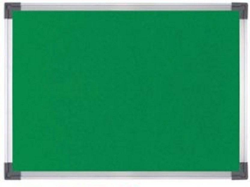 Octa Queen Notice Board Or Pin Up Green Small 1 Foot X 5