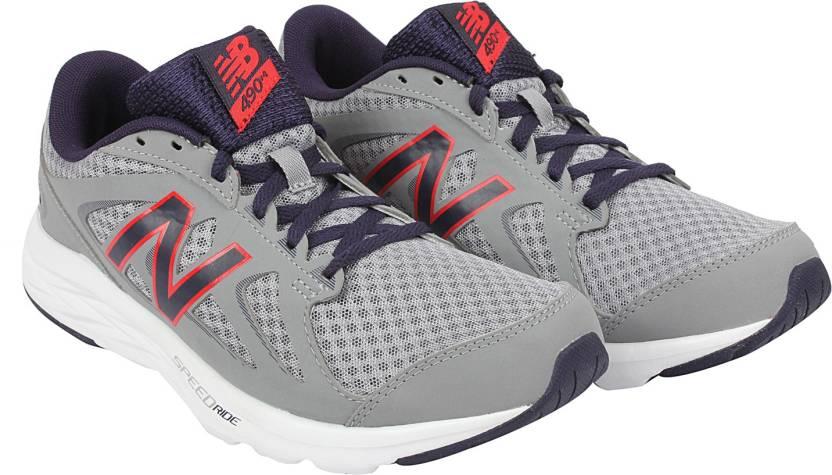 be97b37e7cc0 New Balance New Balance Men s M490CS4 Grey Running Shoes 7 Running Shoes  For Men (Grey)