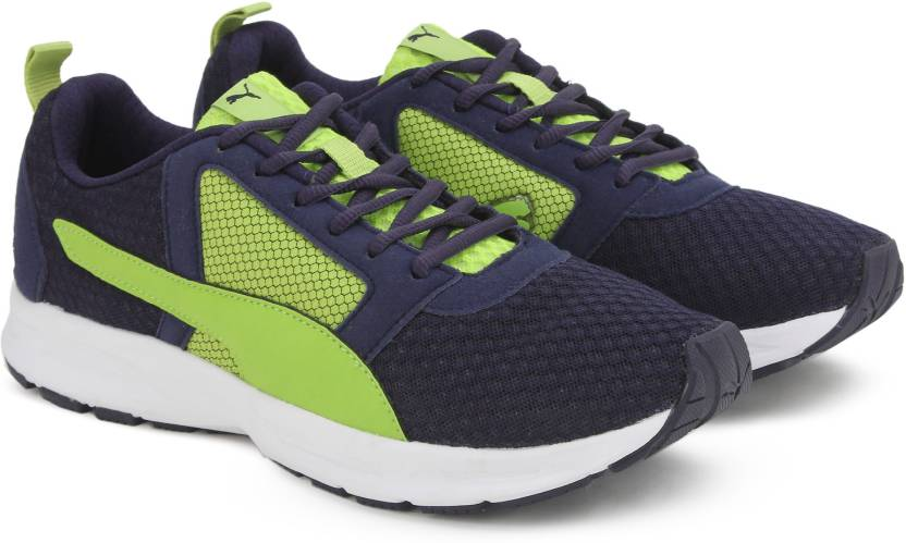 66e05064d69e1c Puma Deng Running Shoes For Men - Buy PEACOT-LIME PUNCH Color Puma ...