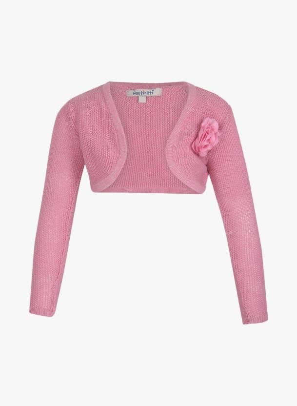 879398548 NautiNati Baby Girls Shrug - Buy NautiNati Baby Girls Shrug Online ...