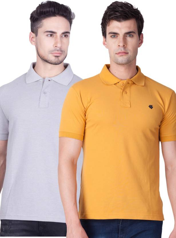 6e9ceeea ONN Solid Men's Polo Neck Multicolor T-Shirt - Buy ONN Solid Men's ...