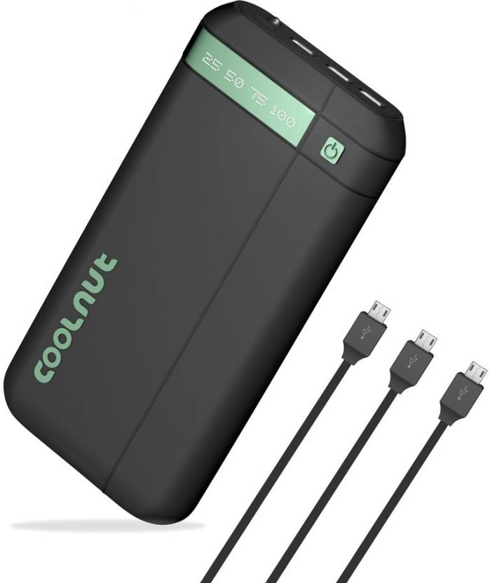 Coolnut Ultra High Capacity 20000 mAh Power Bank