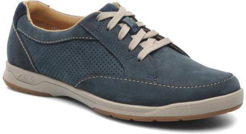 65d7f50ce49fa0 Clarks STAFFORD PARK5 NAVY NUBUCK Outdoors For Men - Buy Navy Color ...