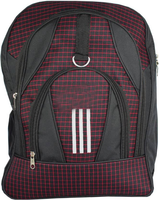 60b2afcc86 spero adidas Waterproof School Bag (Black