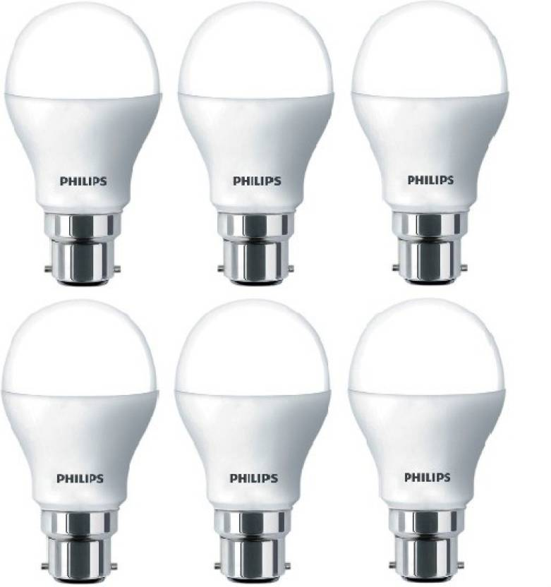 Philips 7 w globe b22 led bulb price in india buy for Buyers choice light bulbs