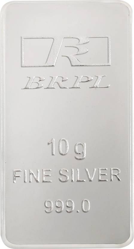 Bangalore Refinery Purity S 999 10 g Silver Bar