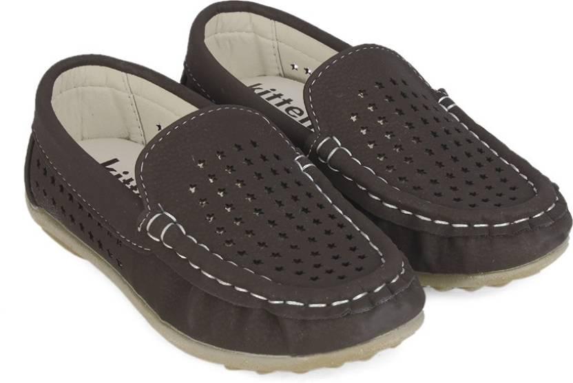 KITTENS Boys Slip on Loafers