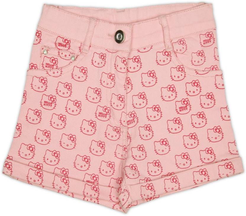 2c60cd147 Hello Kitty Short For Girl's Casual Printed Cotton Price in India ...
