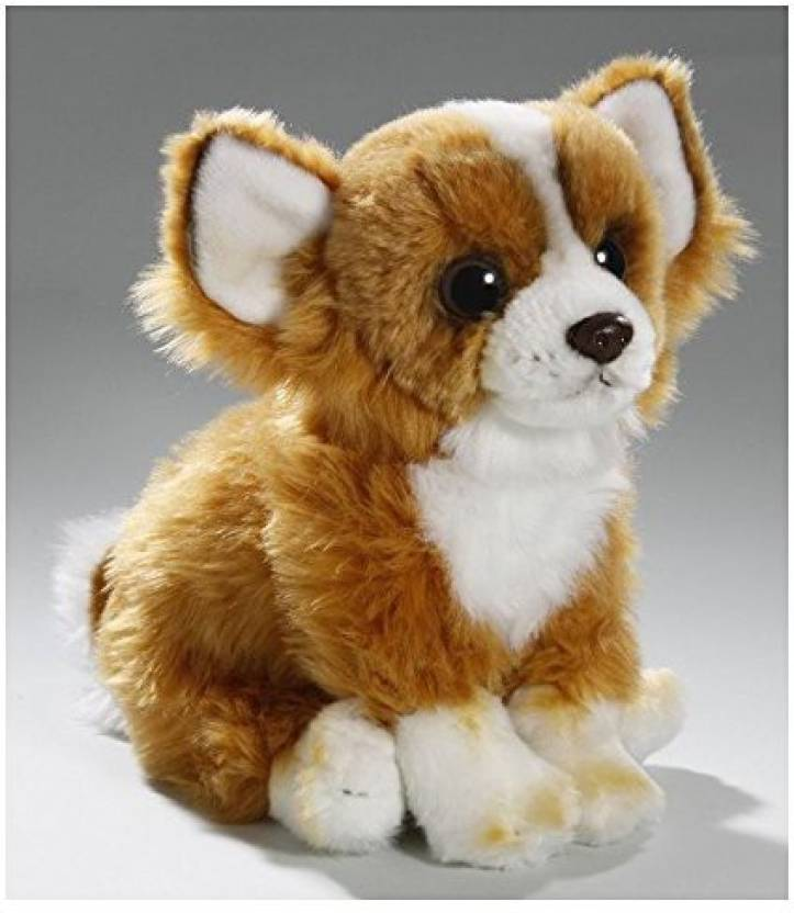 Carl Dick Stuffed Animal Chihuahua Dog Sitting Plush Toy Soft Toy