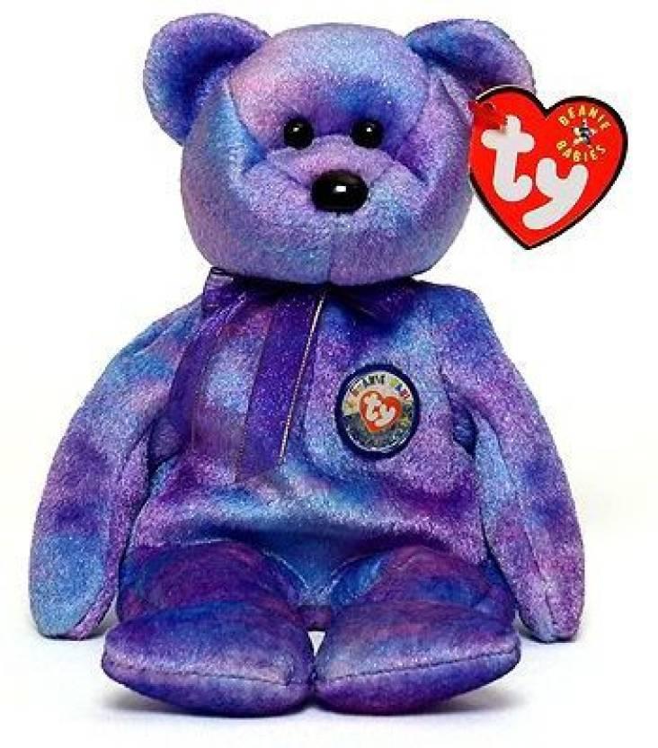 2f0b44a05f1 ty X Beanie Babies Clubby IV Bear Plush Toy Stuffed Animal - 2 inch  (Multicolor)