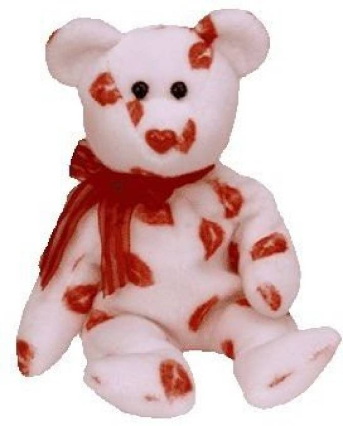 c9814472a07 Generic TY Beanie Baby - SMOOCH the Kisses Bear - 1.4 inch - TY ...