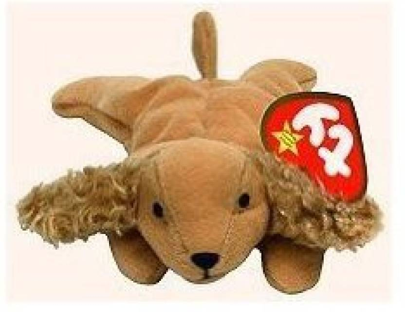 3a95fd7665b ty Beanie Babies Spunky the Cocker Spaniel Dog Plush Toy Stuffed Animal -  3.1 inch (Brown)