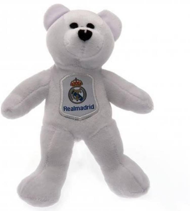 58557864 Home Win REAL MADRID SOCCER TEAM MINI TEDDY BEAR - 8 inch - REAL ...