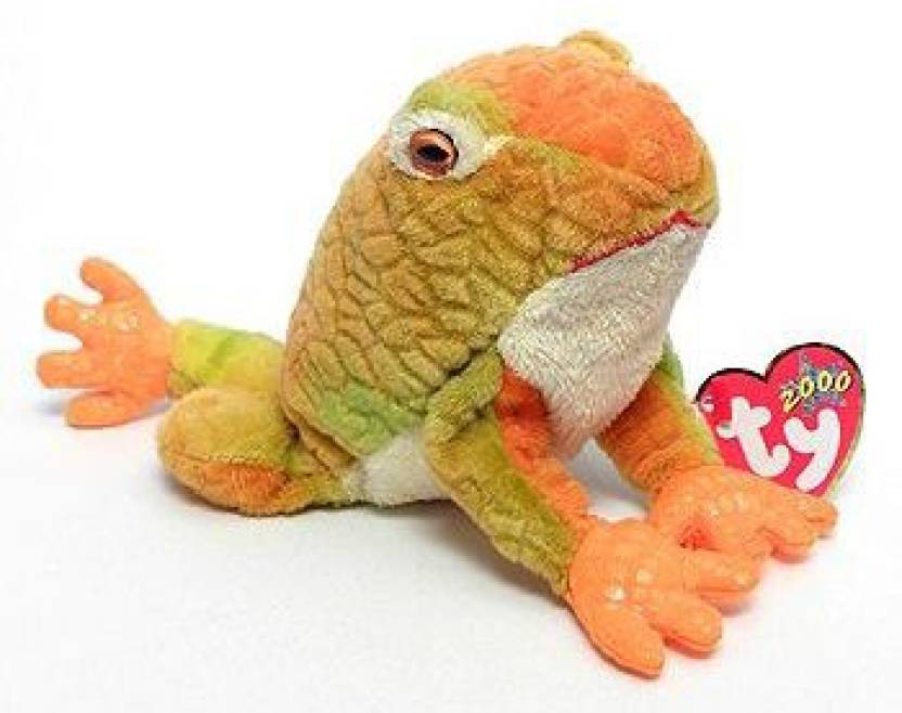 Beanie Babies TY Prince the Frog Plush Toy Stuffed Animal - 2.9 inch  (Multicolor) 55dc8b369ff