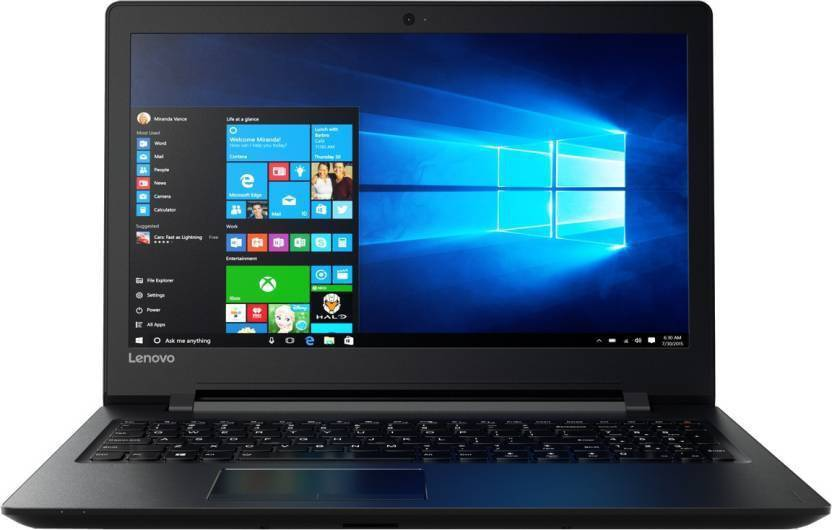 Lenovo Pentium Quad Core - (4 GB/500 GB HDD/Windows 10 Home) IP 110 Laptop  (15.6 inch, Black, 2.2 kg)