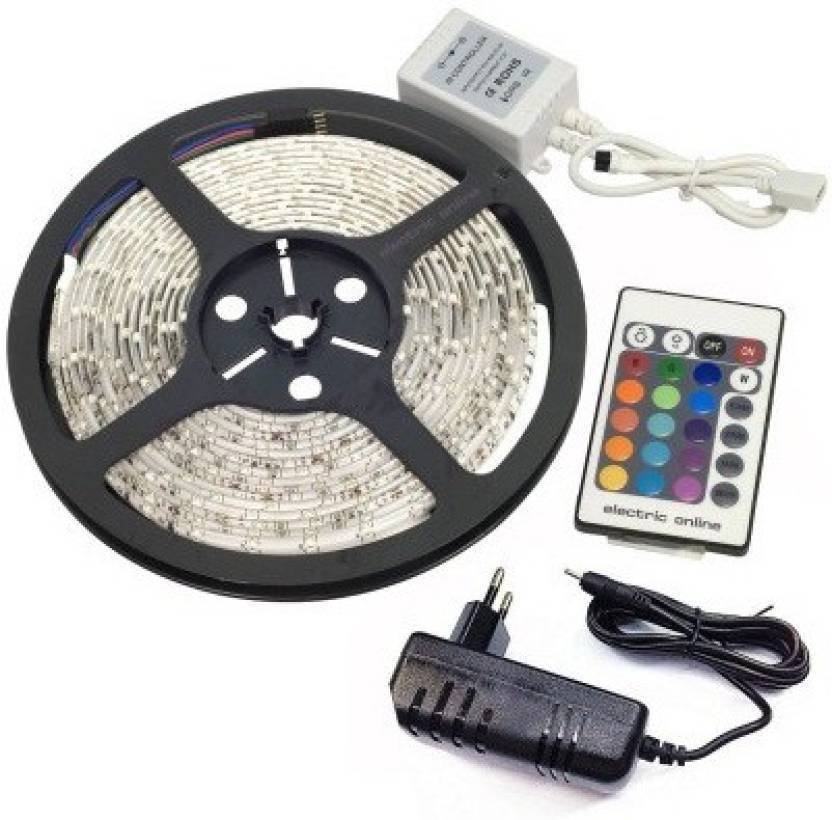 Gi-Shop 196.85 inch Multicolor Rice Lights