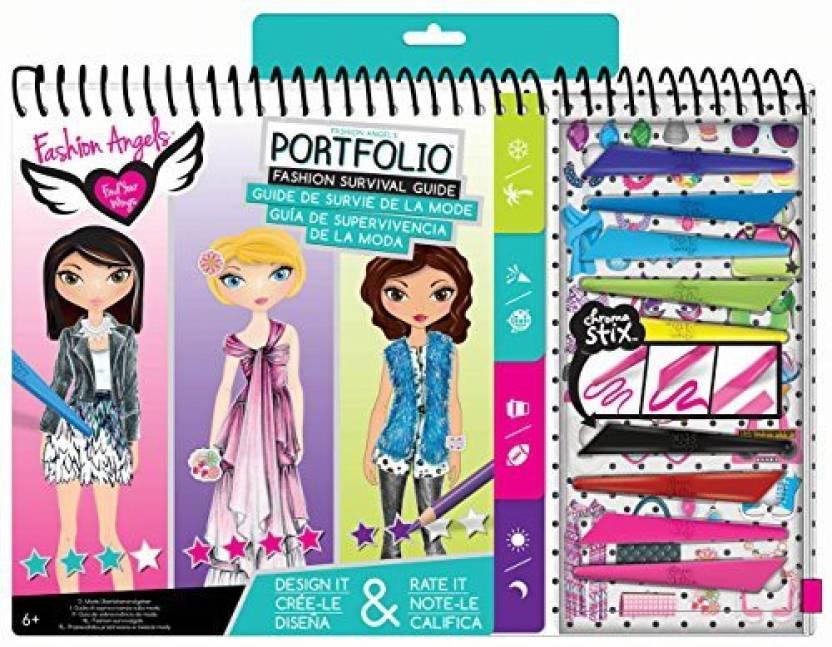 Fashion Angels Enterprises Survival Guide Sketch Portfolio Set