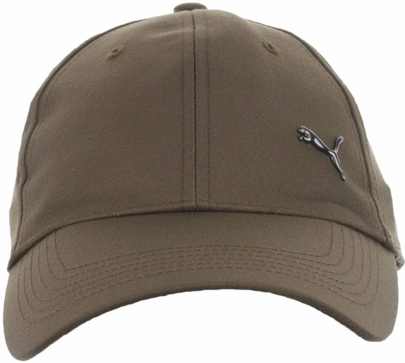 88f3ea18de0 Puma Olive Unisex Metal Cat Cap - Buy Puma Olive Unisex Metal Cat Cap  Online at Best Prices in India