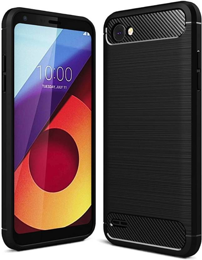 iPaky Back Cover for LG Q6 Black