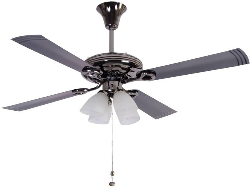 Usha fontana lotus black chrome 1230 4 blade ceiling fan price in usha fontana lotus black chrome 1230 4 blade ceiling fan mozeypictures Gallery