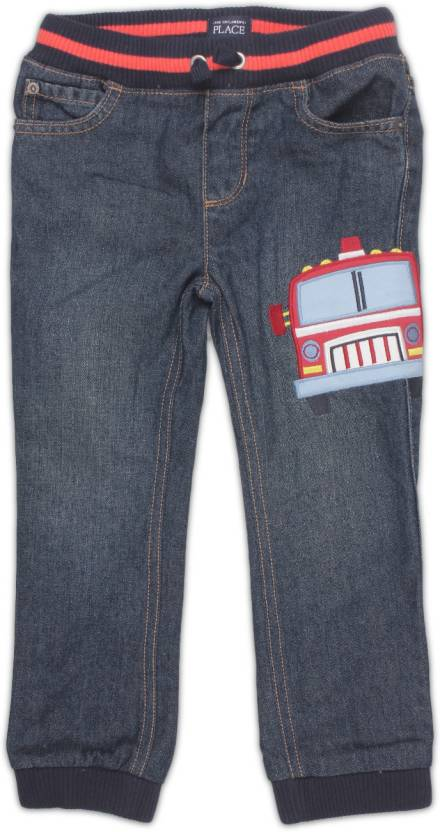 6c7e5d671087f The Children s Place Skinny Baby Boys Blue Jeans - Buy DK JUPITER The  Children s Place Skinny Baby Boys Blue Jeans Online at Best Prices in India  ...