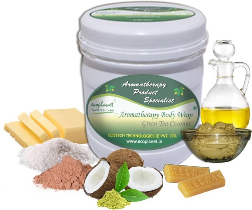 ecoplanet Aromatherapy Scrub Sugar Base Green Tea Scrub