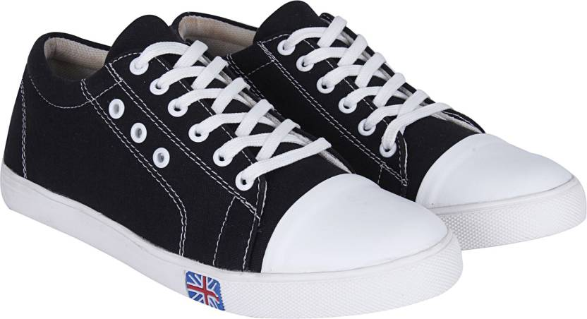 7f2ffd810 Kraasa Knight Ace Canvas Shoes For Men - Buy Black Color Kraasa ...