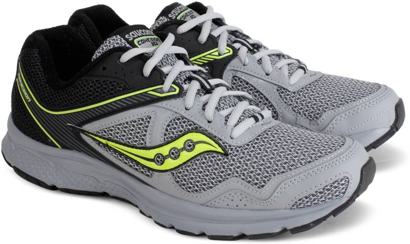 030de6aab194 Saucony GRID COHESION 10 Running Shoes For Men - Buy BLK GRY Color ...
