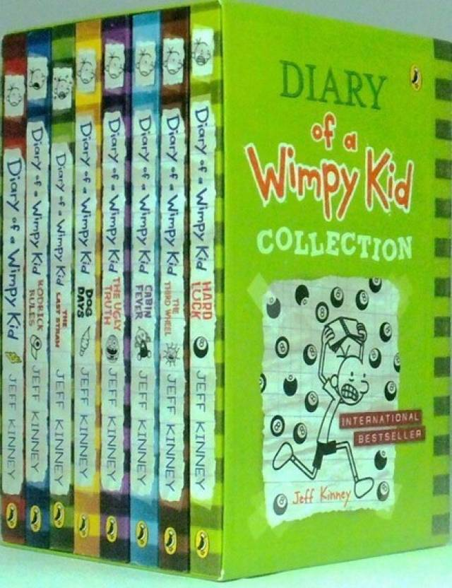 Diary of a wimpy kid set of 8 books buy diary of a wimpy kid diary of a wimpy kid set of 8 books solutioingenieria Choice Image