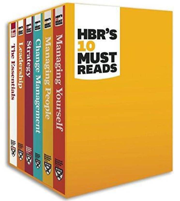 HBR's 10 Must Reads Boxed Set ( Set of 6 Volumes ) Edition