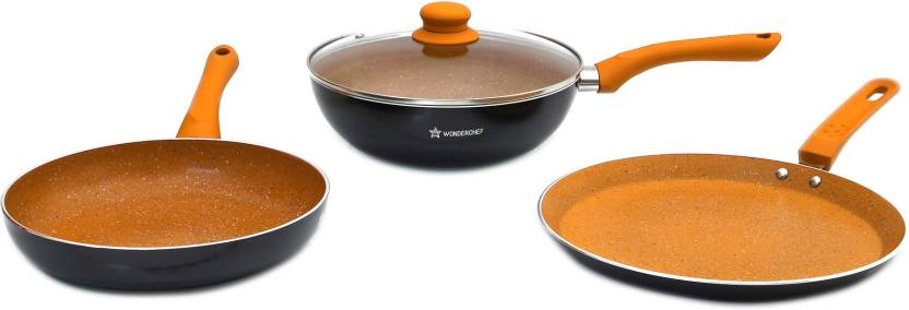 Wonderchef Sakura Induction Bottom Induction Bottom Cookware Set