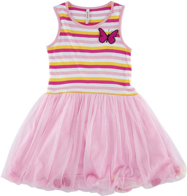 Chalk by Pantaloons Girls Party Dress Price in India - Buy Chalk by ...