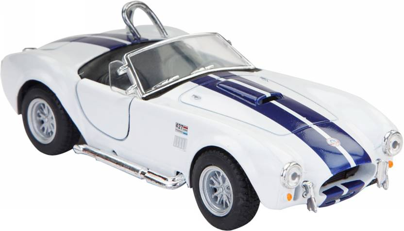 Jack Royal 1965 Shelby 427 Cobra metal car toy White