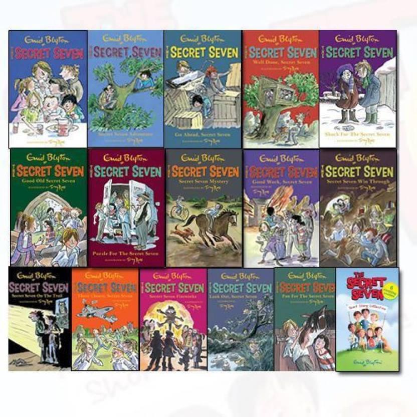 The Secret Seven: The Complete Set (Set of 15 books)