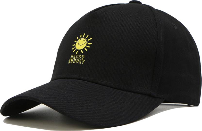 ILU Caps for Men and Women Happy Sunday Baseball cap 001241f9e677