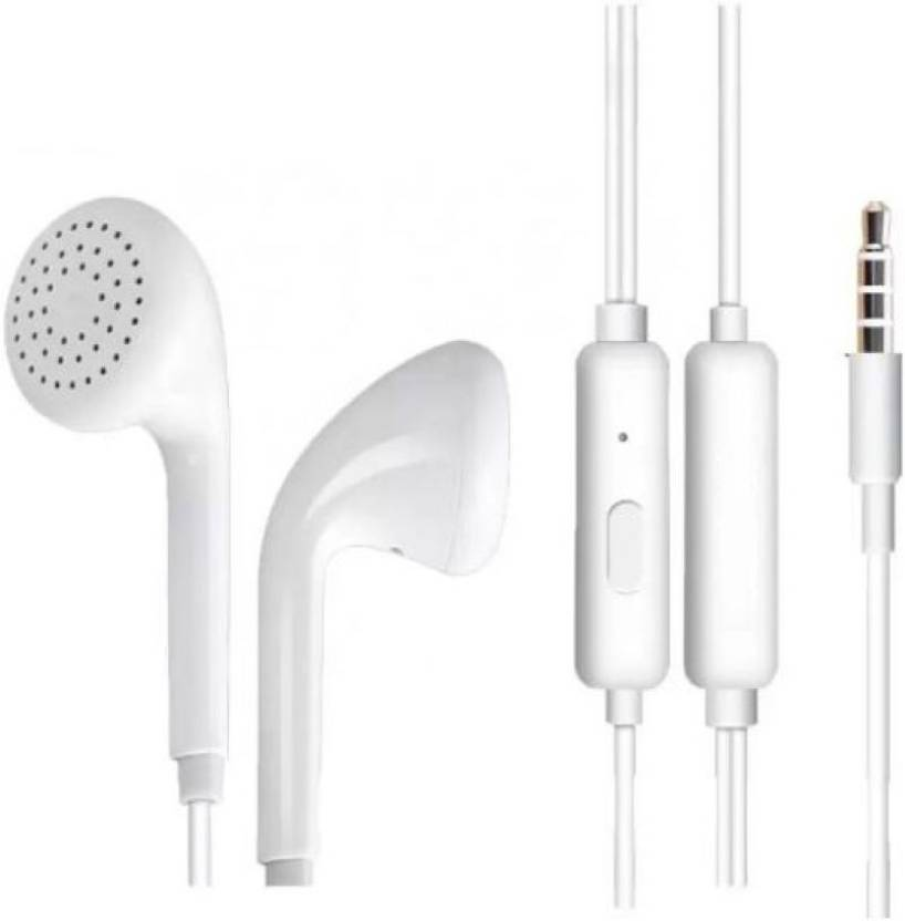 430f5e2dffe Macron Oppo MH133 HandFree Wired Headset with Mic (White, In the Ear)
