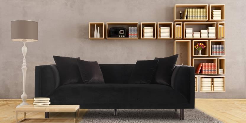 Dreamzz Furniture Comfy Sofa Fabric 3 Seater Sofa Price In India