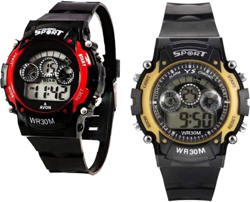 Good Friends 7 Led Light Sport Watches Bn451 Digital Watch For Boys Watch For Boys
