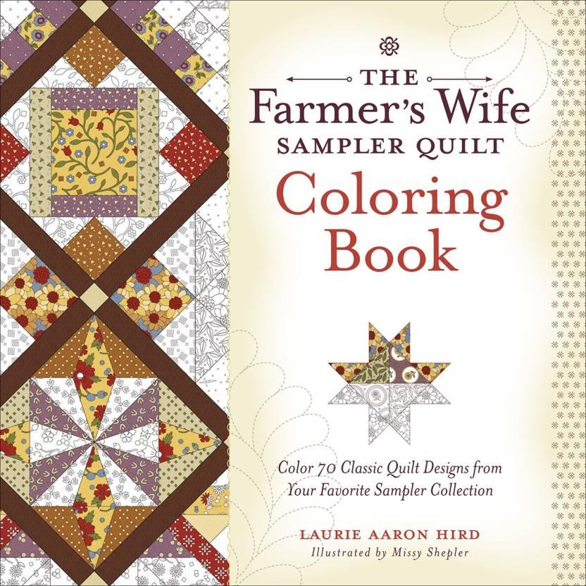 F W Media Fons Porter Books Sampler Quilt Coloring Book Fons