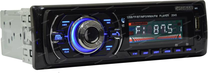 Woodman Single Din WM002 FM/USB/ Bluetooth WM-13 Car Stereo