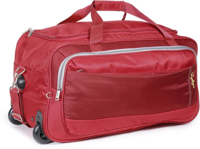 Skybags 25 inch 64 cm Cardiff (E) Duffel Strolley Bag Red - Price in ... 6405544f2d0f5