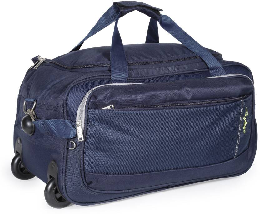 83a10fd0d631 Skybags 21 inch 53 cm Cardiff (E) Duffel Strolley Bag Blue - Price ...
