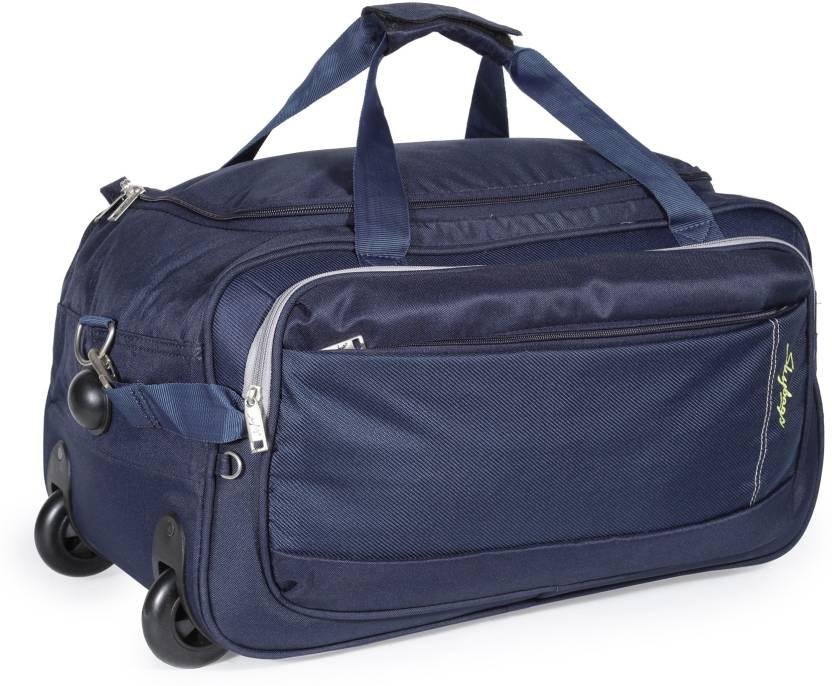Skybags 21 inch 53 cm Cardiff (E) Duffel Strolley Bag Blue - Price ... 62516f27d7d6f