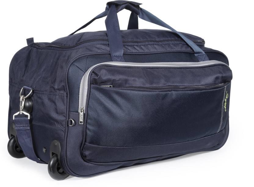 Skybags 25 inch 64 cm Cardiff (E) Duffel Strolley Bag Blue - Price ... 3d2dba117a8fe